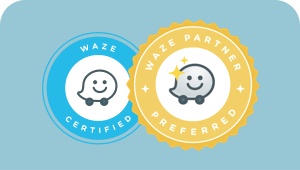 Waze for Agencies Badge Image