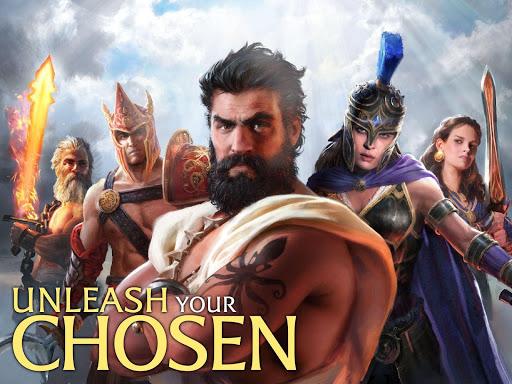 Olympus Rising: Tower Defense and Greek Gods apkmind screenshots 8