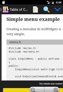 Cross Platform GUI Programming Tutorials - náhled