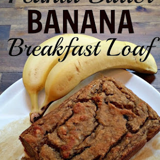 Peanut Butter Banana Breakfast Loaf