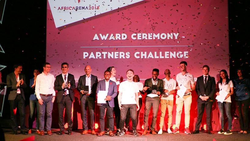 2018 AricArena Vivatech finalists.