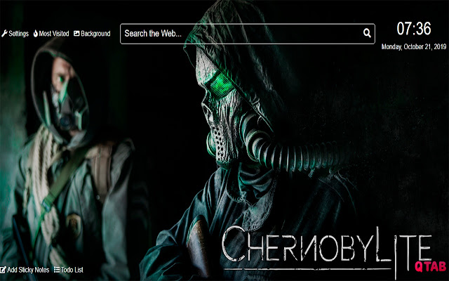 ChernobyliteWallpapers for New Tab