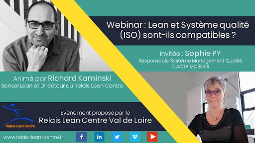 Webinar Vivre le Lean Aujourd'hui : Lean et Système qualité (ISO) sont-ils compatibles ?