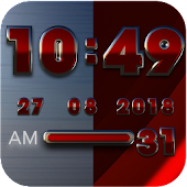 Rebel Digital Clock Widget