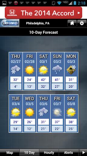 NBC10 Weather screenshot 2