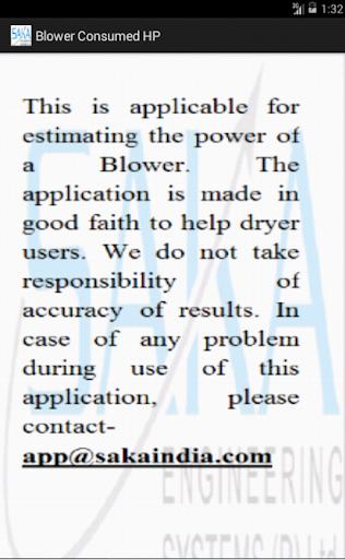 Blower Power Consumption SAKA 3.0 screenshots {n} 2