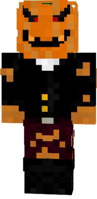the king of all pumpkins. halloween skin
