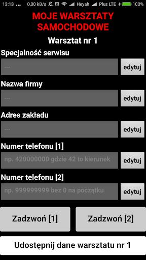 Niezbu0119dnik kierowcy - asystent 2.8 screenshots 4