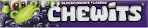 Chewits Candy - Blackcurrant
