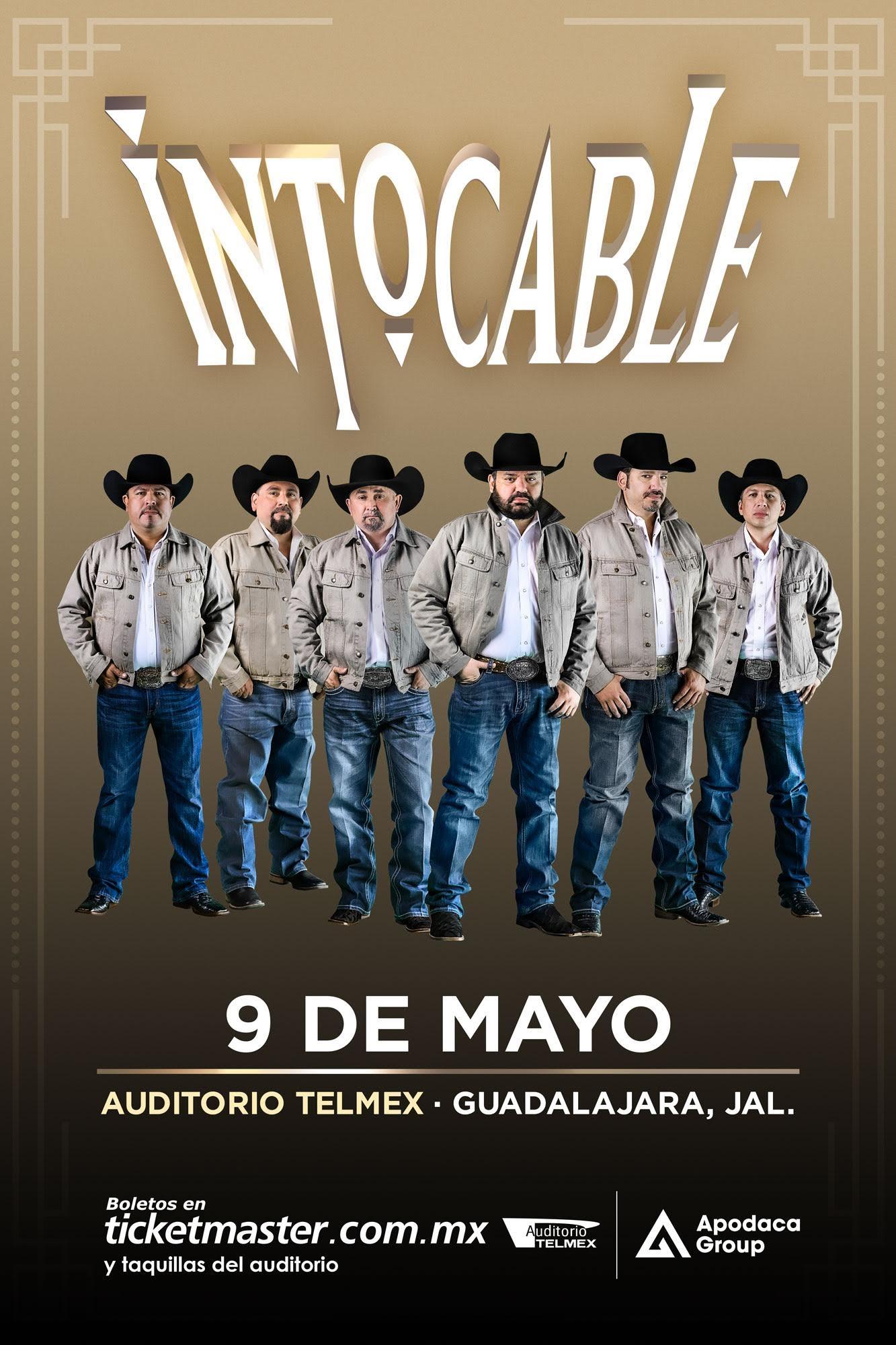 ¡Regresa Intocable a Guadalajara con nueva gira!