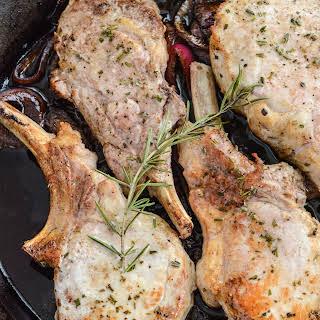 Balsamic Roasted Pork Chops.