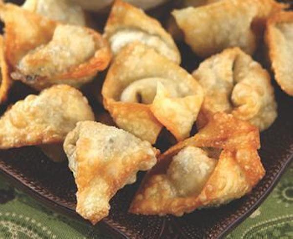 Mushroom Wontons Recipe