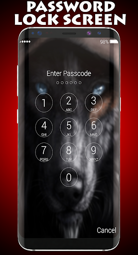 Wolf Lock Screen 1.0 screenshots 2
