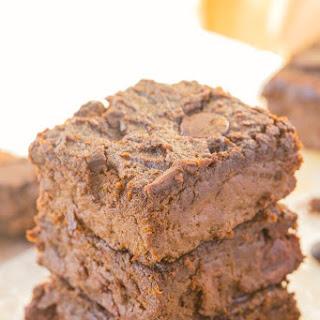 Healthy 4 Ingredient Flourless Sweet Potato Brownies.
