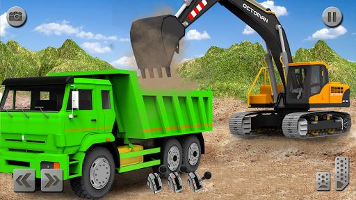 Sand Excavator Truck Driving Rescue Simulator game 5.0 screenshots 9