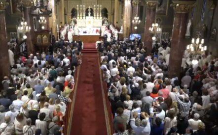 Romania: Đức Thánh Cha nói về Mẹ Maria: 'Mẹ Maria lên đường, Mẹ Maria gặp gỡ, Mẹ Maria hoan hỷ'