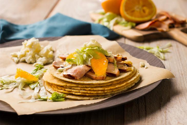 Soft Pork Tacos with Orange Adobo