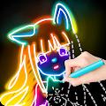 Draw Glow Comics download