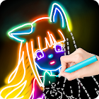 Draw Glow Comics icon