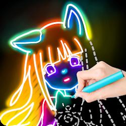 Draw Glow Comics