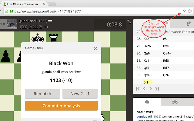 Chess.com Analysis at Lichess