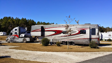Photo: Truck and trailer in Mayo, FL.