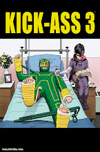 Photo: KICK ASS 3 #7 COVER. 2014. Ink(ed by Joe Rivera) on bristol board with digital color, 11 × 17″.