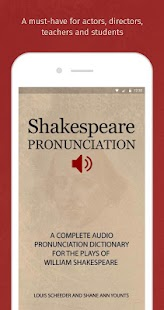 Shakespeare Pronunciation- screenshot thumbnail