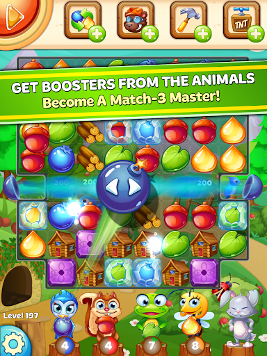 Forest Rescue: Match 3 Puzzle 12.0.3 7