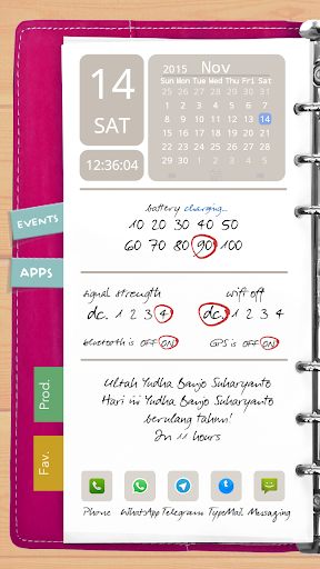 Agenda Pink Theme for TL