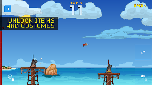 Human Cannonball v1.1 Mod Money