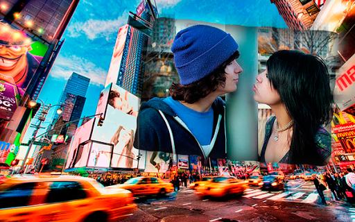 纽约市的帧图片