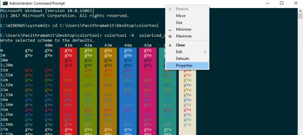 Công cụ ColorTool CMD