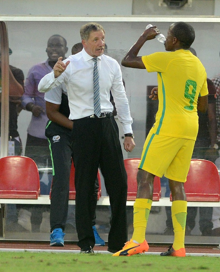 Stuart Baxter during the 2019 Africa Cup of Nations qualifying match between Nigeria and Bafana Bafana. Picture: GALLO IMAGES