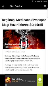 Beşiktaş Haberleri screenshot 2