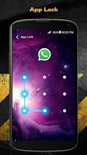 Zámek aplikace - App lock - náhled
