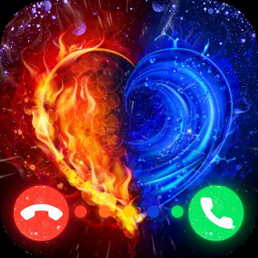 Colorful Phone Call Screen