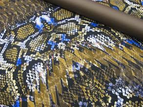 Photo: Ткань: Плательная Roberto Cavalli нат. шелк, шерсть ш.1,50 см. 2500р. Ткань: шерть стрейч Armani double face ш. 1,40 см. 3200р.