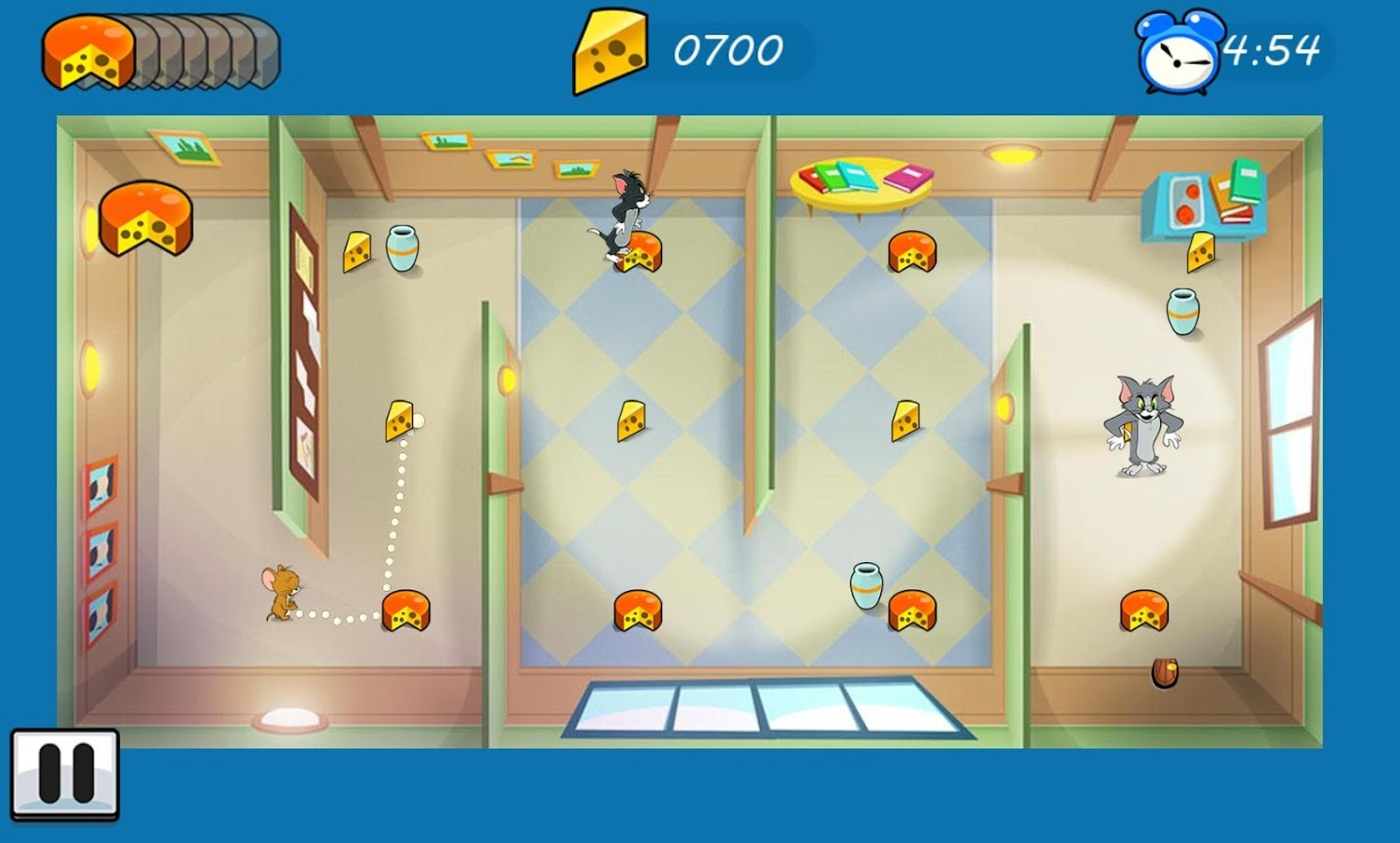 Screenshots of Tom & Jerry: Mouse Maze FREE for iPhone