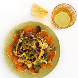 Annie's Lentil & Bok Choy Sweet Potato Nachos