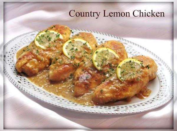 Country Lemon Chicken Recipe