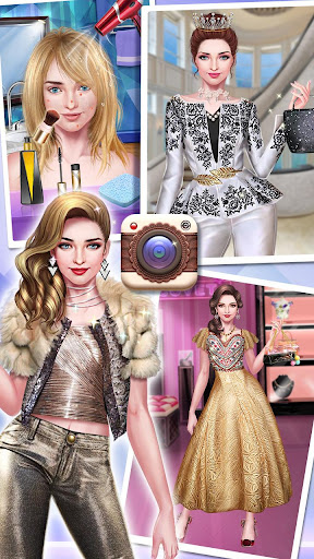 ud83dudc84ud83dudcf7Fashion Cover Girl - Makeup star  screenshots 16