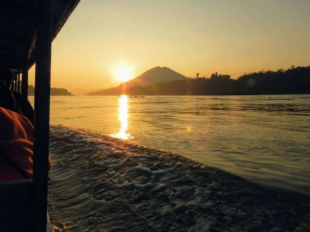 Sunset Mekong