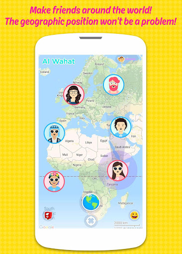 Mapple: Random Chat & Meet New People - screenshot