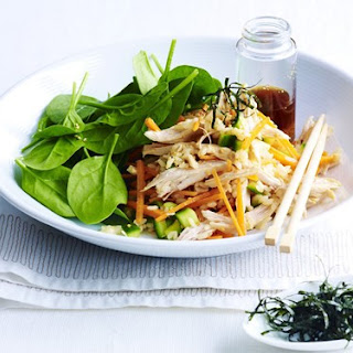 Teriyaki Chicken Rice Salad
