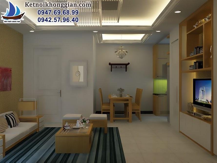 thiết kế căn hộ chung cư trẻ trung
