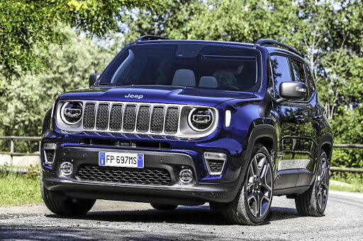 Jeep has unveiled the next generation Renegade. Picture: FIAT CHRYSLER AUTOMOBILES