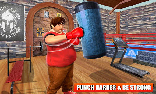 Fatboy Gym Workout: Fitness & Bodybuilding Games filehippodl screenshot 4