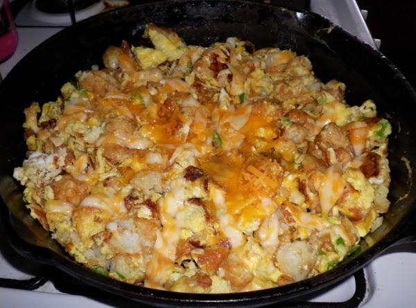 Potatoe, Bacon, And Sour Cream Frittata Recipe