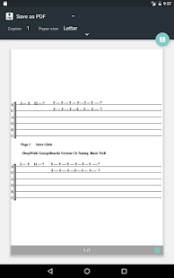 Printable Sleepwalk Tabs Audio- screenshot thumbnail